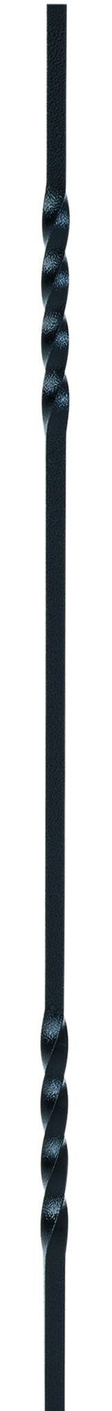 1 Charleston Metal Baluster Black Finish 850