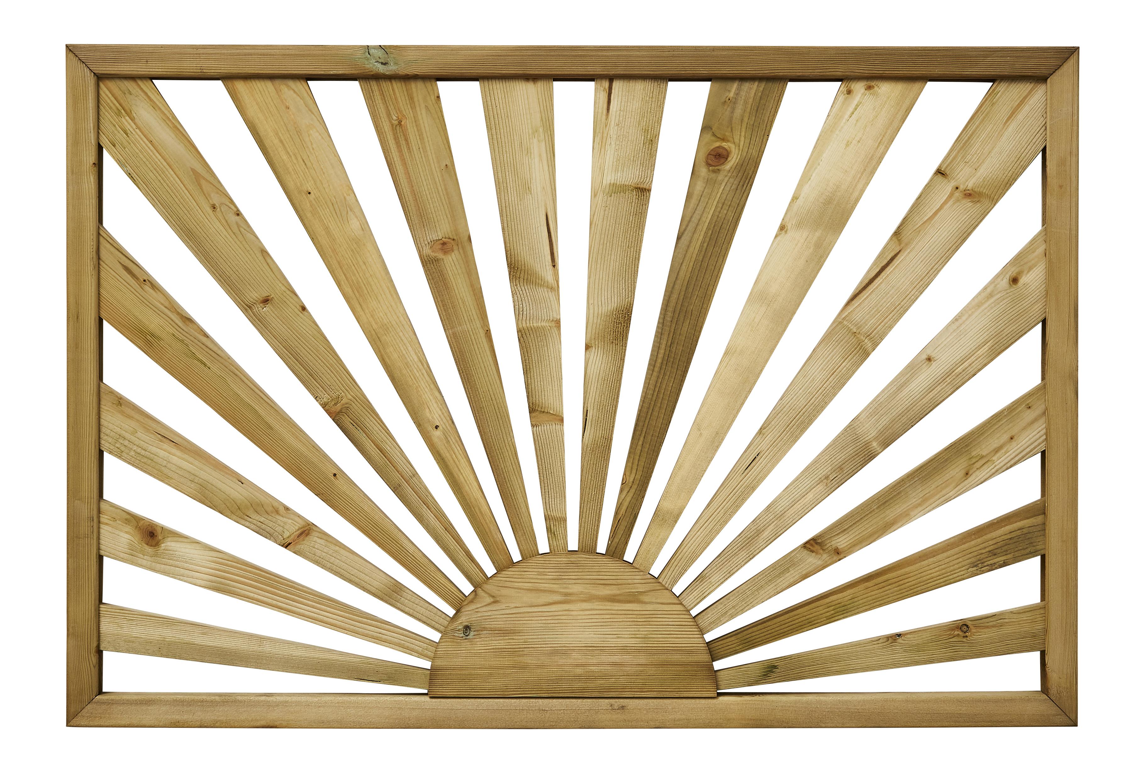 1 Pine Sunburst Panel 1130 760 32