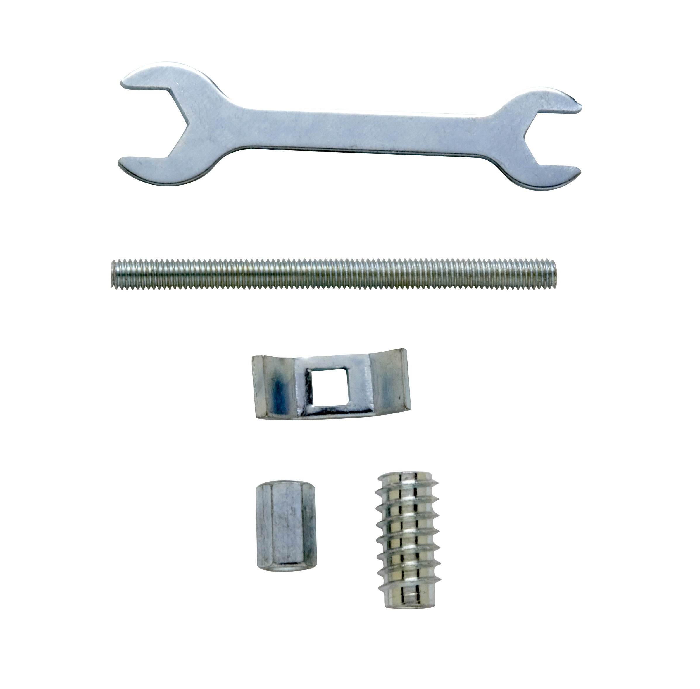 4 Decking Balustrade Bolts & 1 Spanner