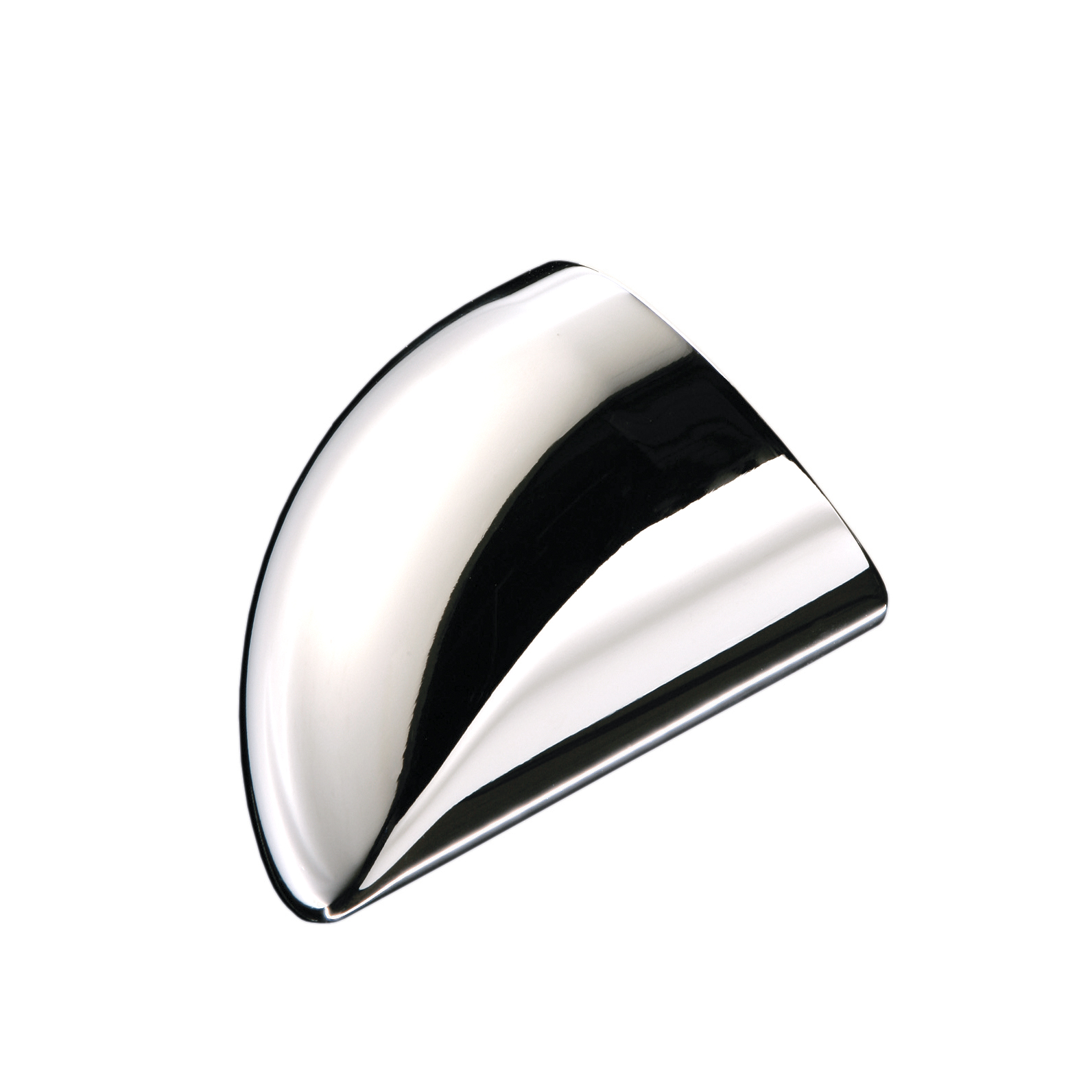1 Fusion Wall Handrail End Cap Chrome Effect