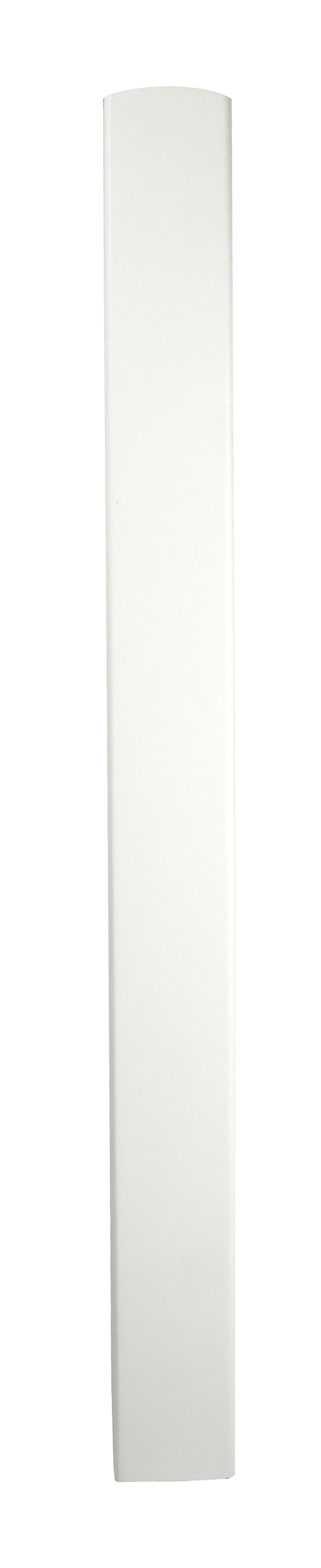 1 White Newel Base 700 90