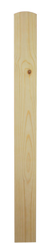 1 Pine Newel Base 915 90