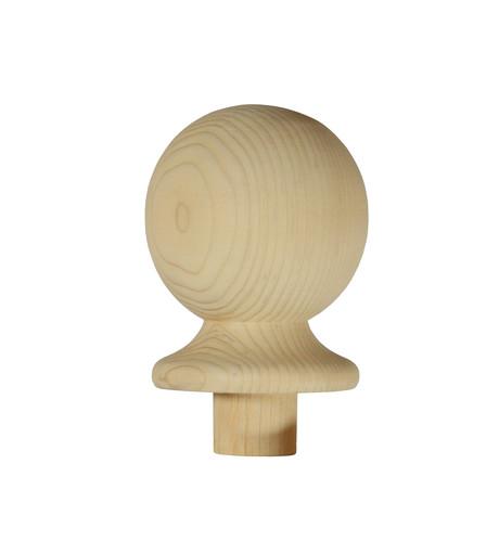 1 Pine Ball Newel Cap 90