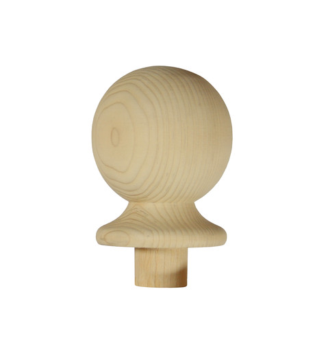 1 Pine Half Ball Newel Cap 82