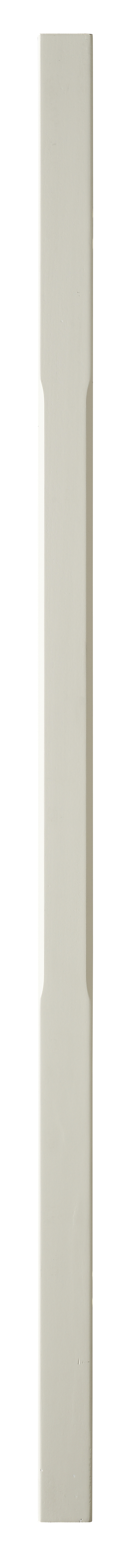 1 White Stop Chamfer Baluster 1100 41