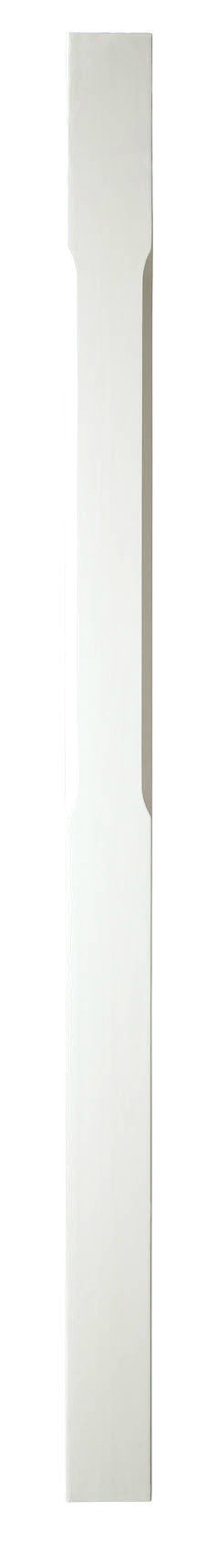 1 White Stop Chamfer Newel Post 1500 90
