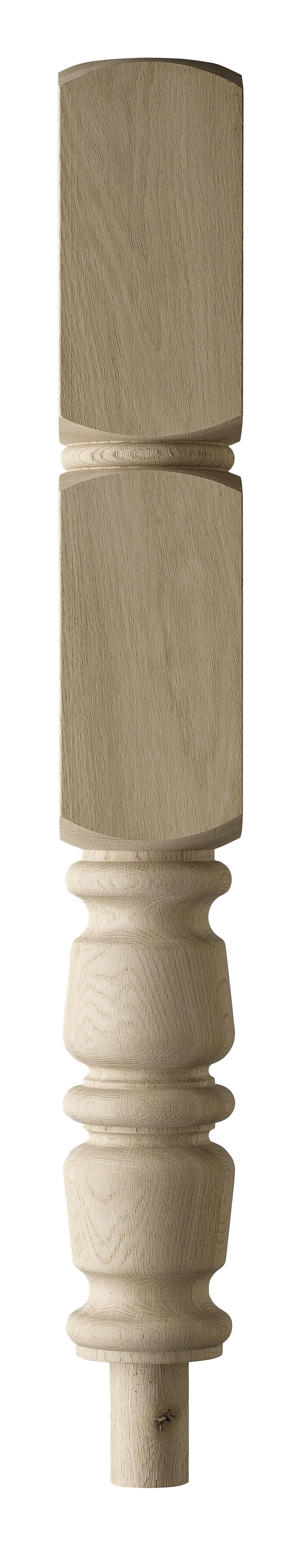 1 Oak Arlington Intermediate Newel