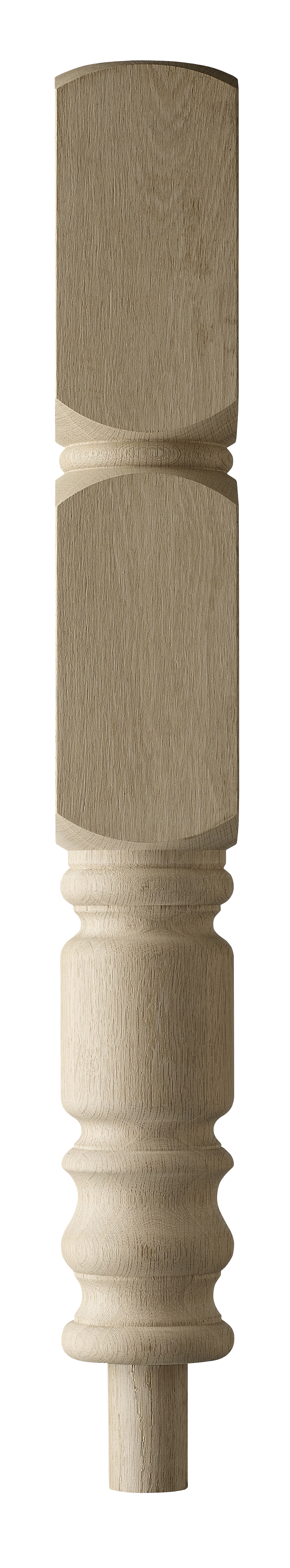 1 Oak Eton Intermediate Newel