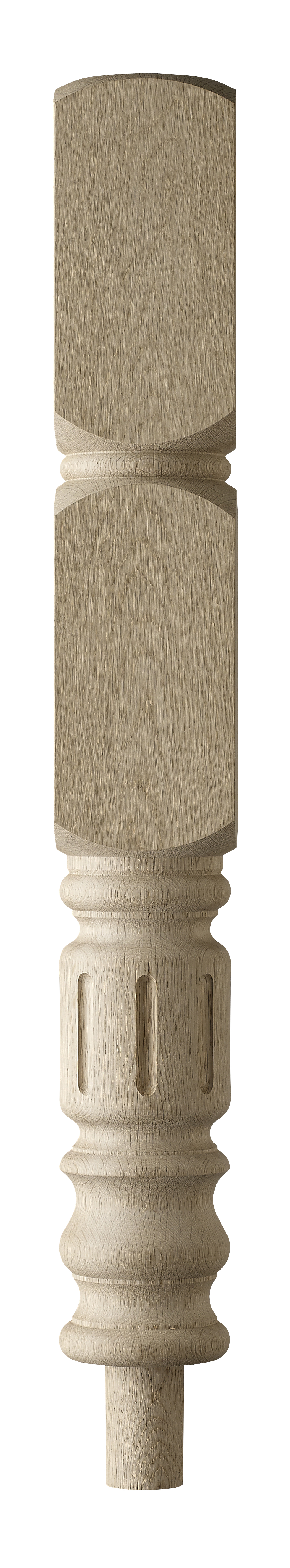 1 Oak Granby Intermediate Newel