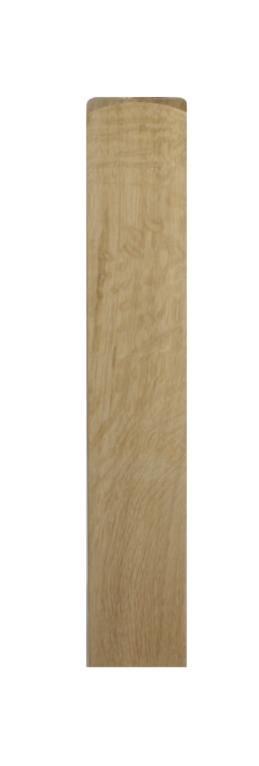 1 Oak Newel Base 510 90