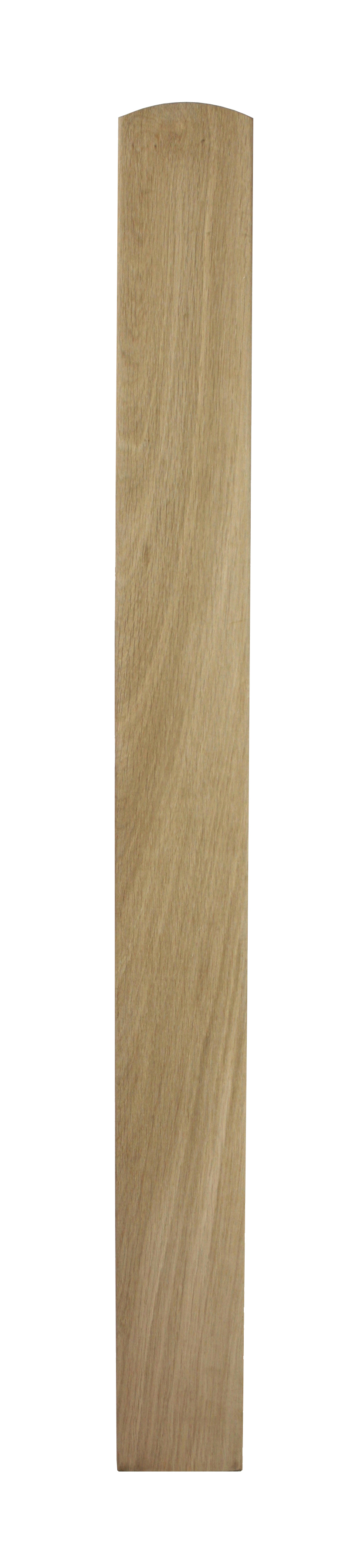 1 Oak Newel Base 915 90
