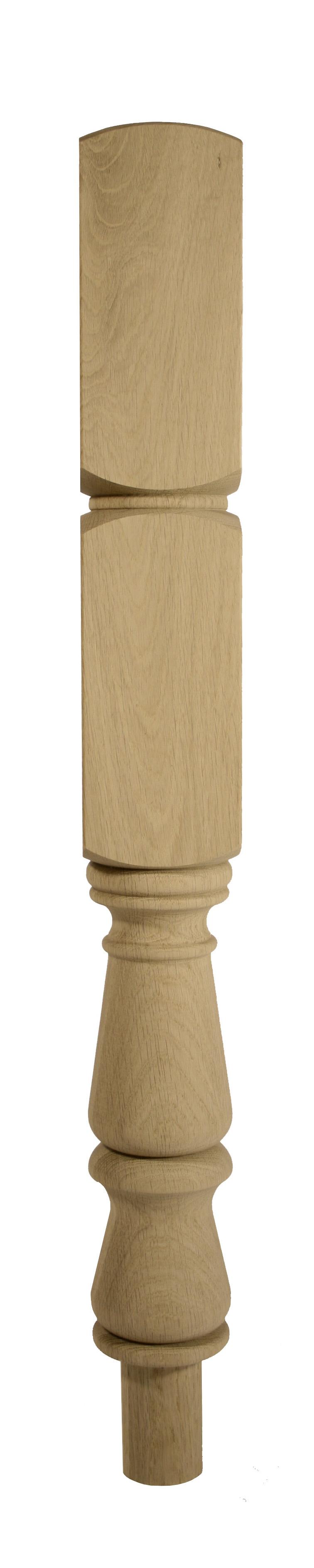 1 Oak Internal Newel 710 90