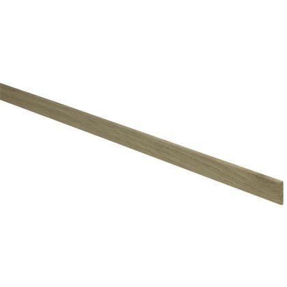 20 White Oak D-Shape Mouldings 4 x 21 x 2400mm