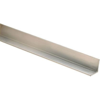 10 Aluminium Square Angle Mouldings 12 x 12 x 2400mm