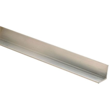 10 Aluminium Square Angle Mouldings 18 x 18 x 2400mm