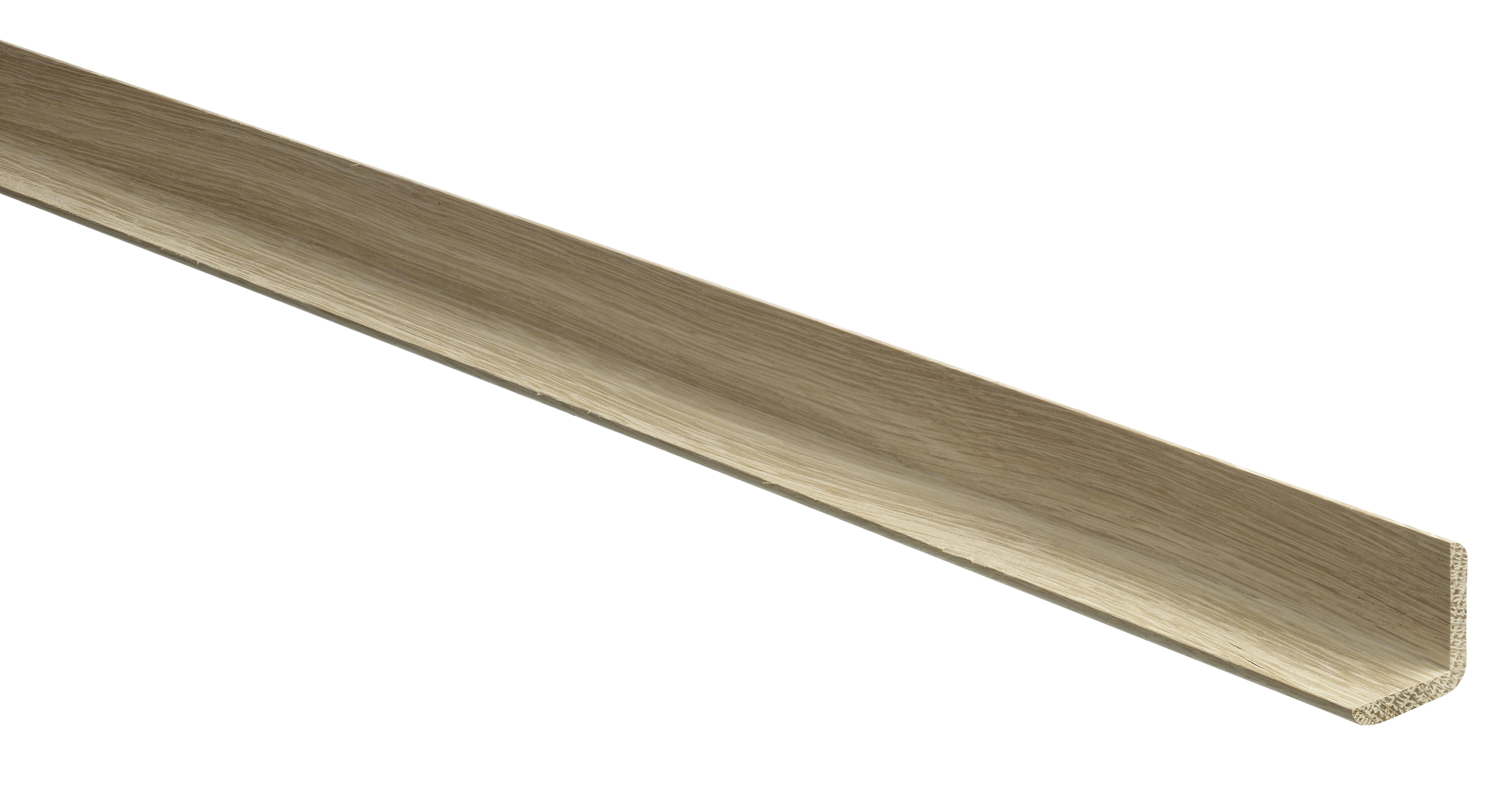 15 White Oak Basic Angle Mouldings 20 x 20 x 2400mm
