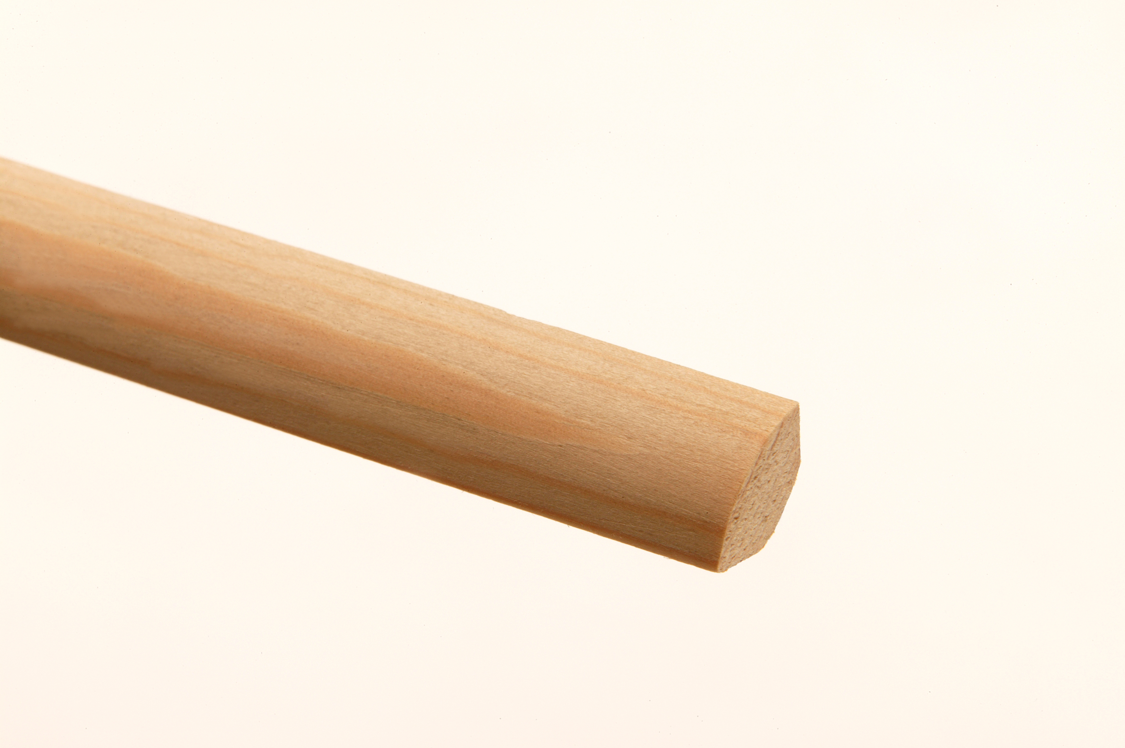 30 Pine Back-Off Quadrant Mouldings 12 x 12 x 2400mm