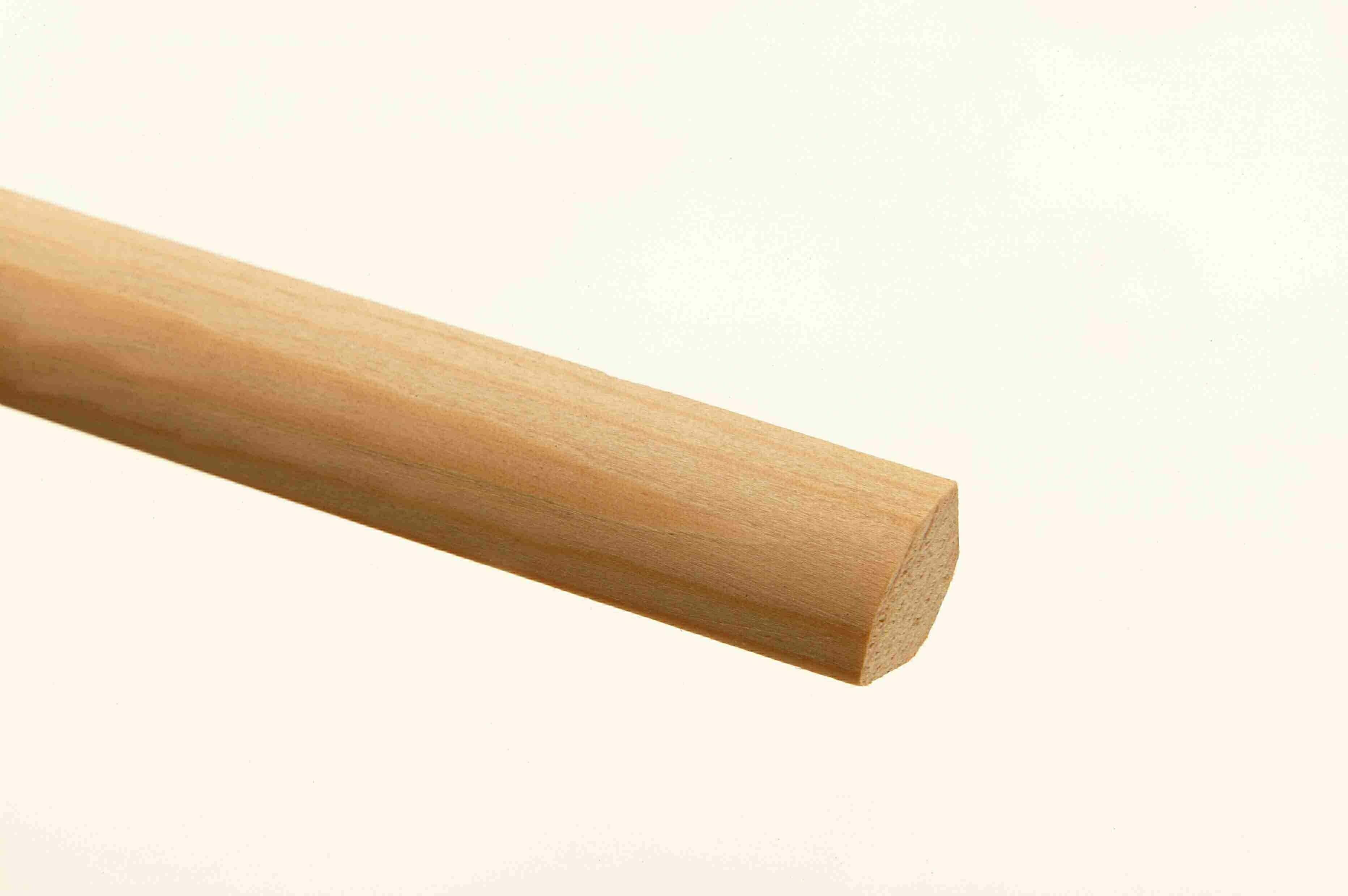 20 Pine Back-Off Quadrant Mouldings 21 x 21 x 2400mm