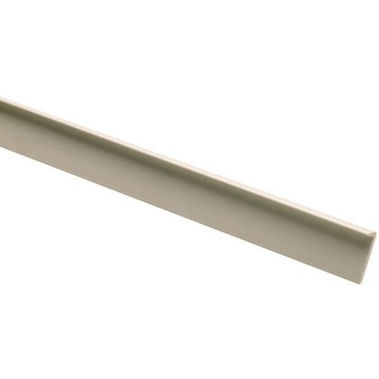 10 PVC Lipping Angle Mouldings 5 x 16 x 2400mm