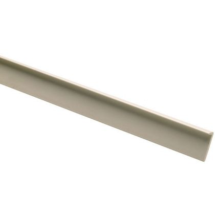 10 PVC Lipping Angle Mouldings 5 x 25 x 2400mm