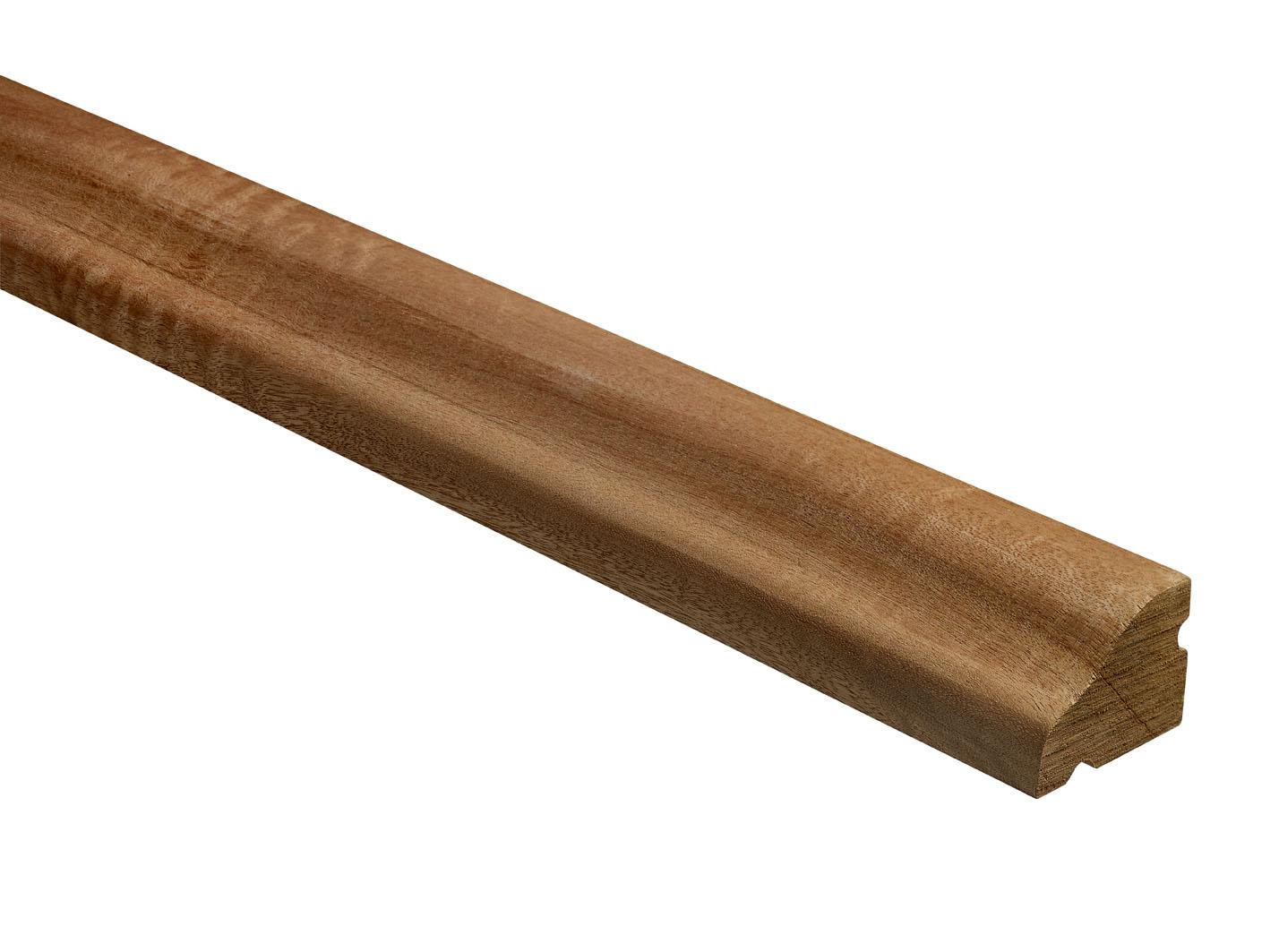 10 Dark Hardwood Weather Bar Mouldings 43 x 57 x 900mm