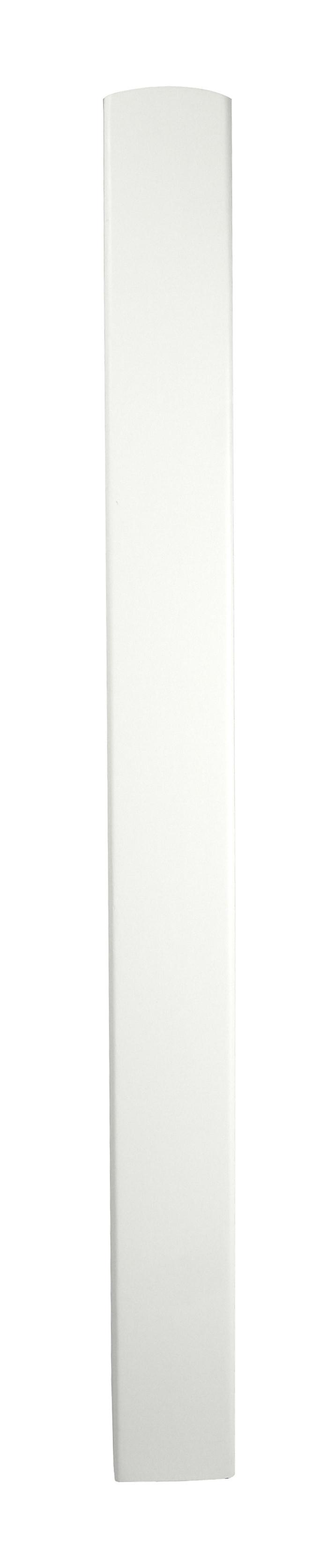 1 White Half Newel Base 510 90
