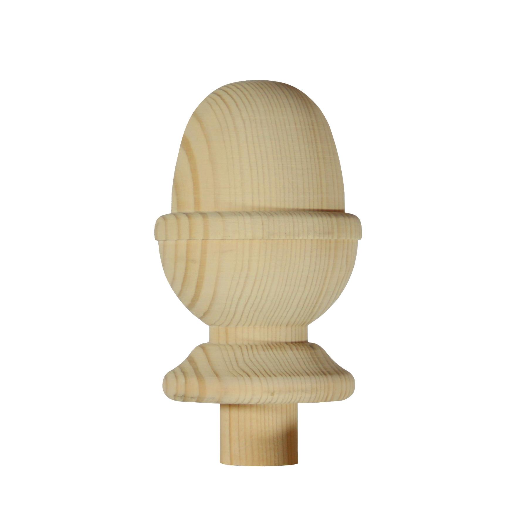 1 Hemlock Acorn Newel Cap 90