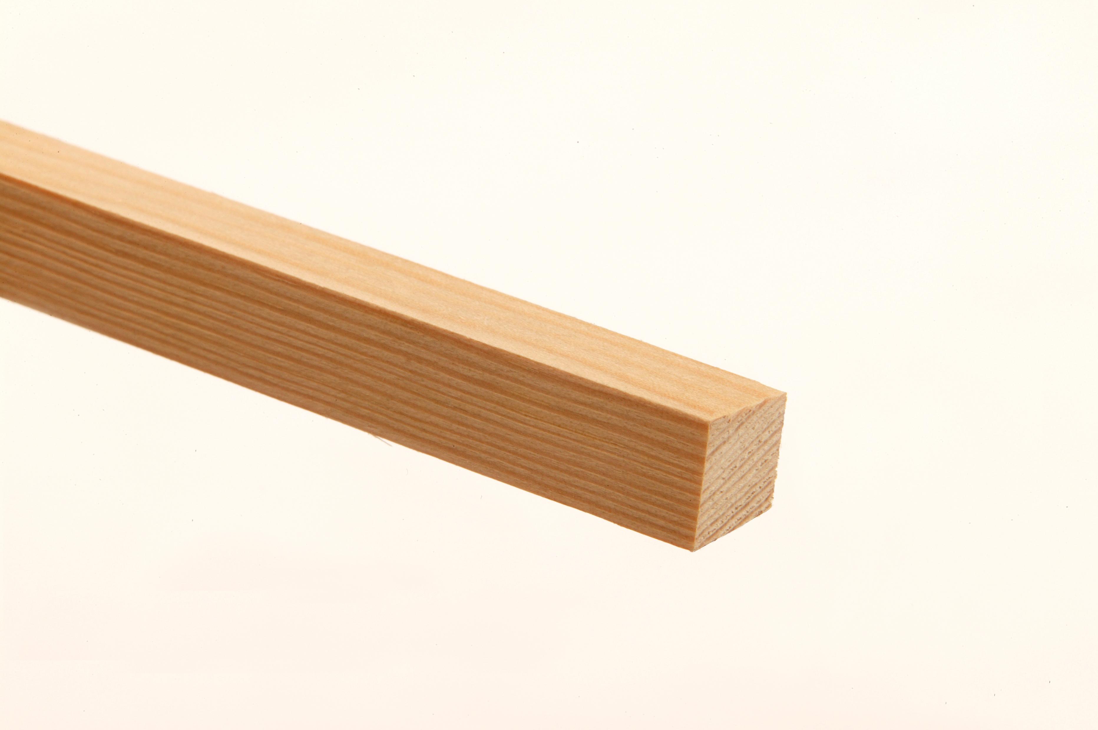 10 Pine PSE Stripwood 34 x 34 x 2400mm