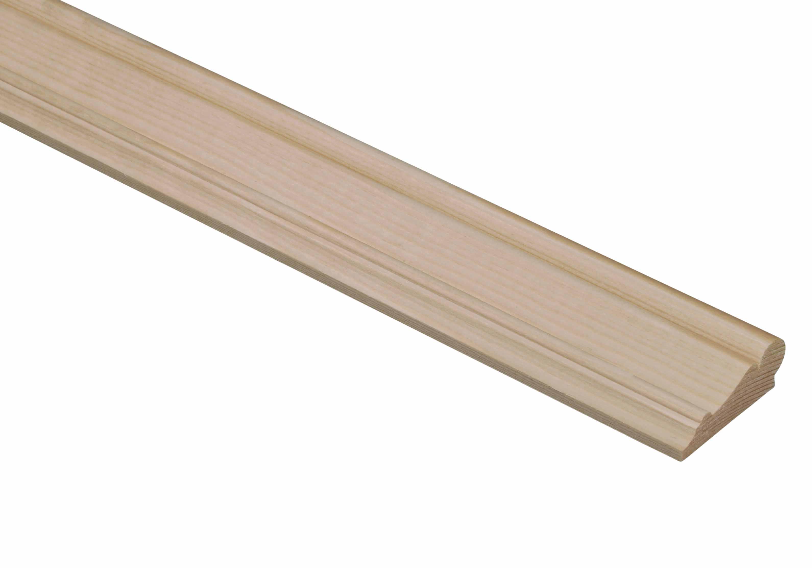 10 Pine Picture Rail Mouldings 15 x 42 x 2400mm